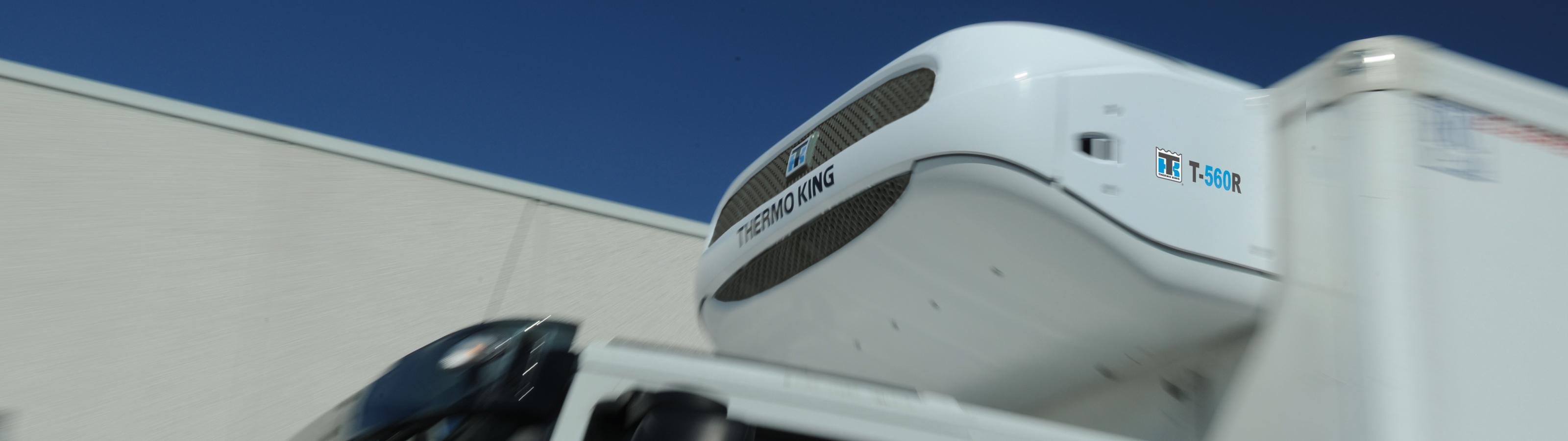 Klimatizace na nakladním vozidel